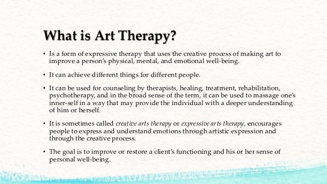 Art Therapy For Children Down Syndrome 3 What Is Art Therapy