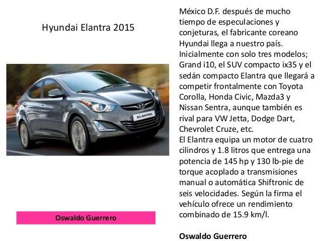 México D.F. después de mucho tiempo de especulaciones y conjeturas, el fabricante coreano Hyundai llega a nuestro país. In...