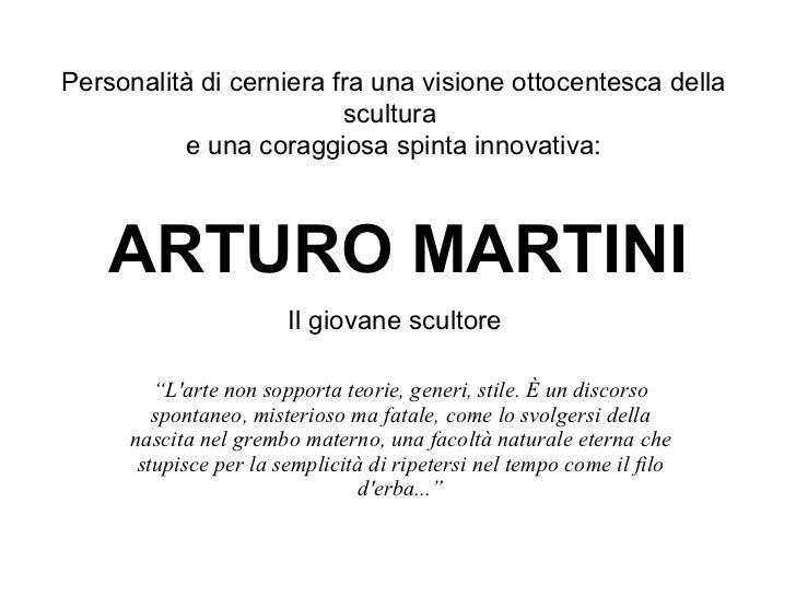 """ARTURO MARTINI """" L'arte non sopporta teorie, generi, stile. È un discorso spontaneo, misterioso ma fatale, come lo svolger..."""