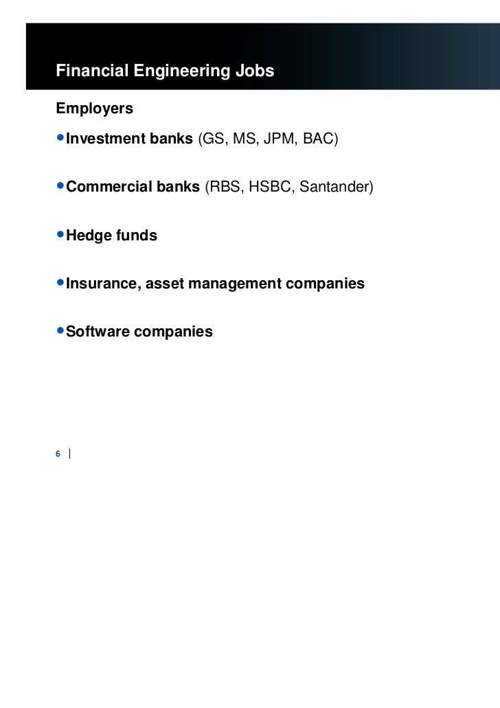 MS in Financial Engineering (MSFE)