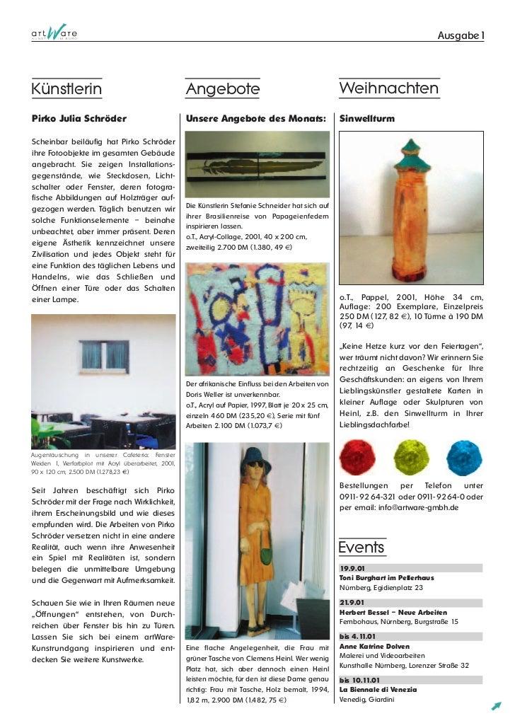 Art ware news1-2001-september Slide 2