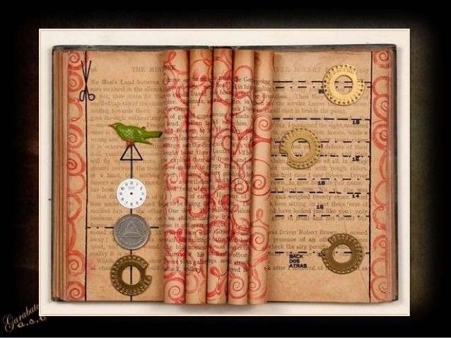 Art with Books by Rachel Ashe Slide 3