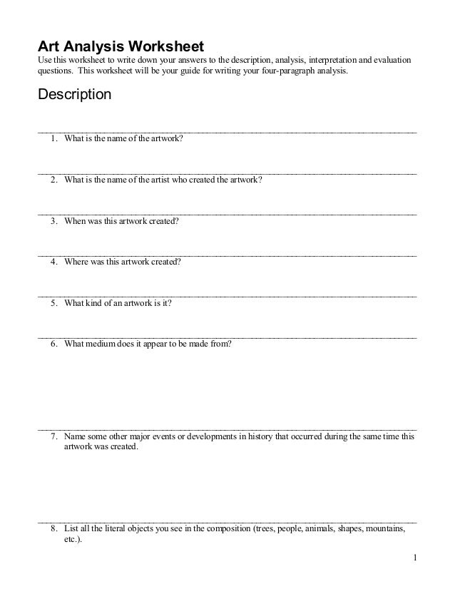 Primary Document Analysis Worksheet | Lewis Hine for Kids ...
