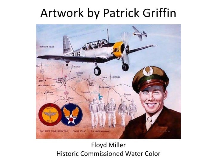 Artwork by Patrick Griffin<br />Floyd Miller <br />Historic Commissioned Water Color <br />