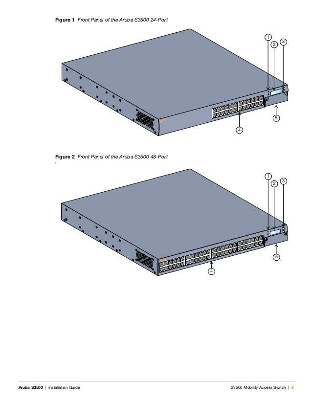 Aruba Networks S3500-24P PoE 24-Port Gigabit Mobility Switch DUAL PSU-600-AC