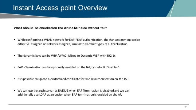 EMEA Airheads- Troubleshooting 802 1x issues