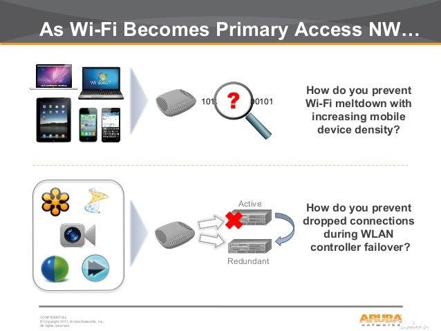 Aruba Networks Webinar Wi Fi Without Interruption Sep20 2012