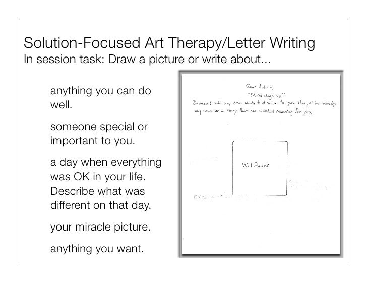 SolutionFocused Brief Therapy in Group Work – Substance Abuse Group Therapy Worksheets
