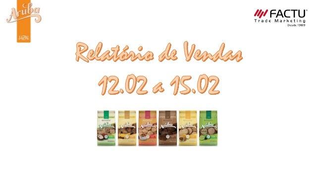 Sacolão Santa Cecília Degustação – 12.02 e 13.02 12/02 Vendas – 24 pacotes Degustação – 8 pacotes Abordagem – 62 pessoas  ...