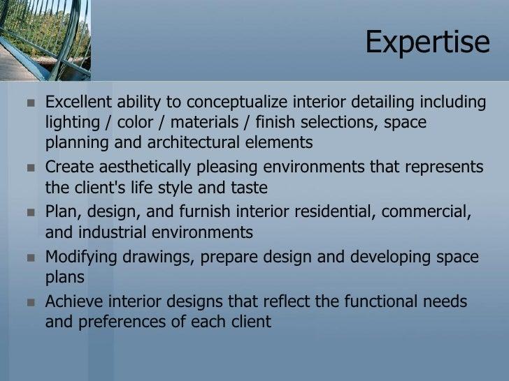 Interior Designing Profile