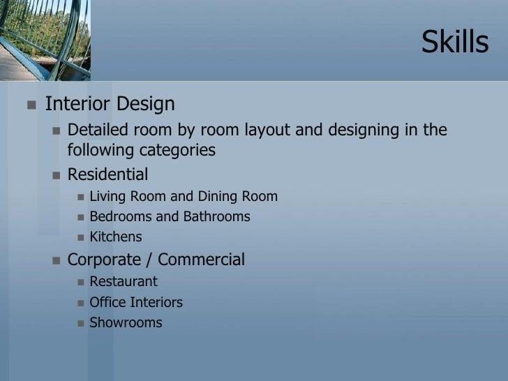 interior designer profile sample Matthewgatesco