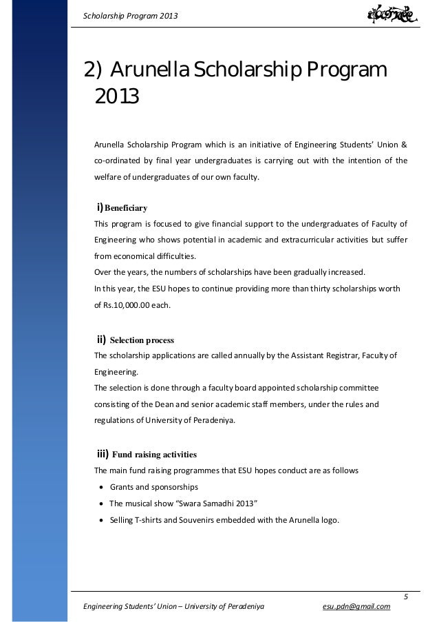 Phd research proposal for scholarship application