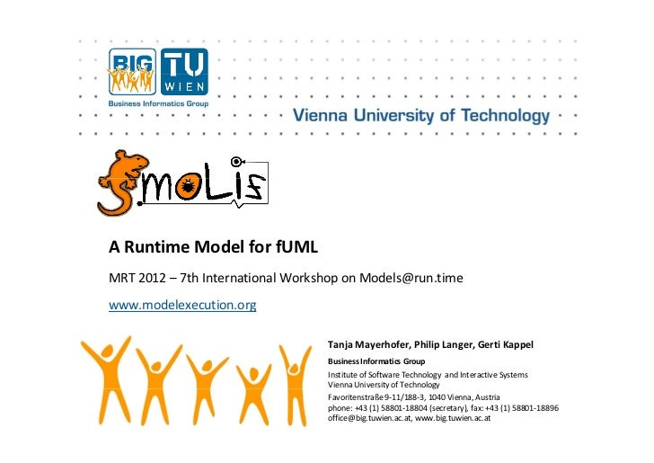 ARuntimeModelforfUMLMRT2012– 7thInternationalWorkshoponModels@run.time                                    p     ...