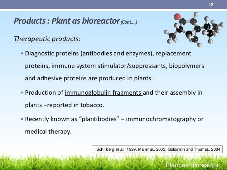TRANSGENIC PLANTS AS BIOREACTORS PDF DOWNLOAD