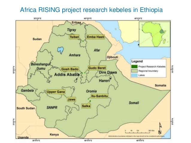 Africa RISING In The Ethiopian Highlands Research For Development Dr - Where is ethiopia