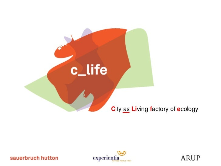 City as Living factory of ecology
