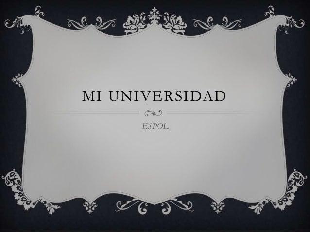 MI UNIVERSIDADESPOL