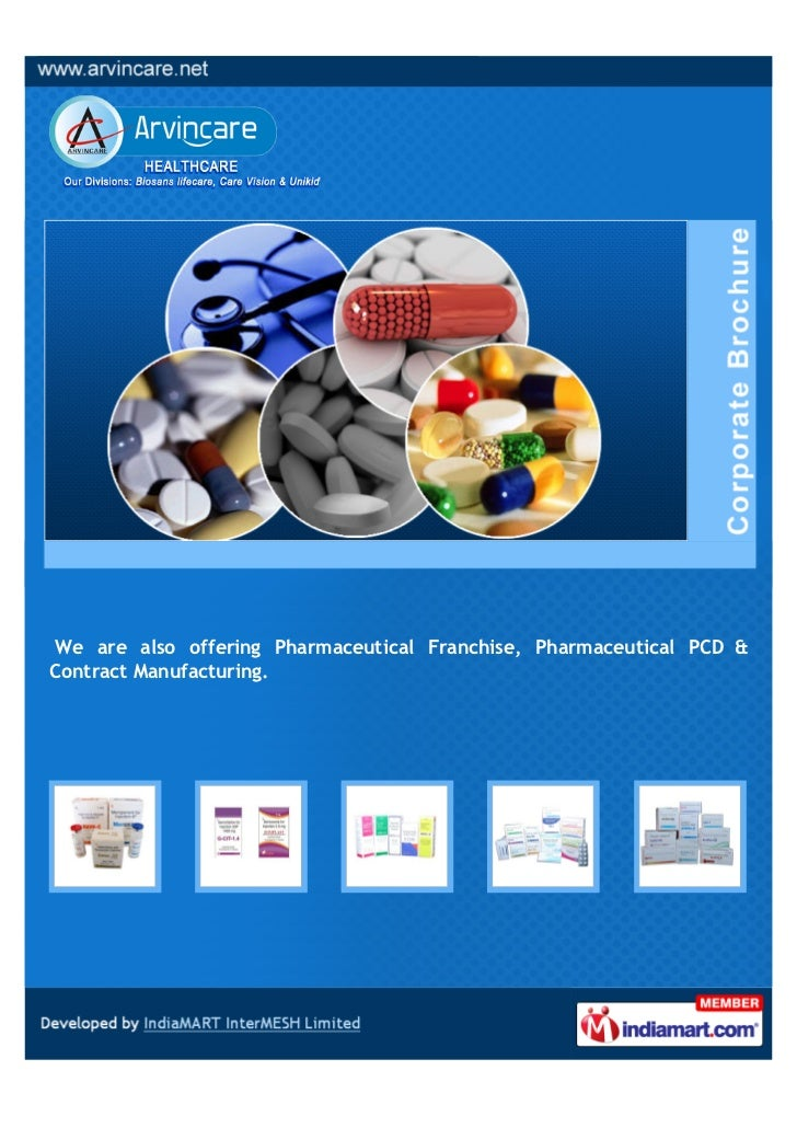 We are also offering Pharmaceutical Franchise, Pharmaceutical PCD &Contract Manufacturing.