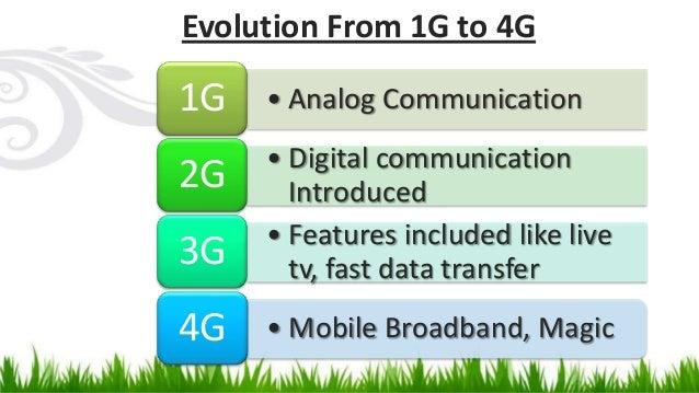 4g is an environmental friendly technology