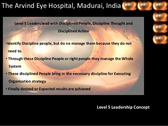 arvind eye Aravind was established in october 1976 and its mission is to eliminate needless blindness through compassionate and quality eye care affordable to all aravind eye.