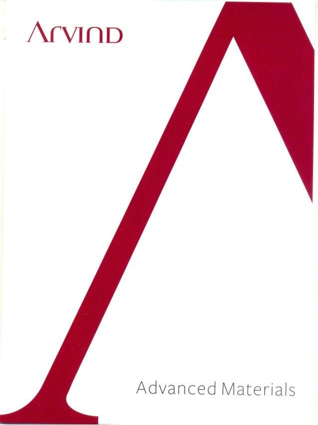 Arvind ltd advanced materials division brochure_2013