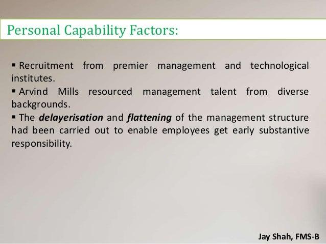 Case study arvind mills