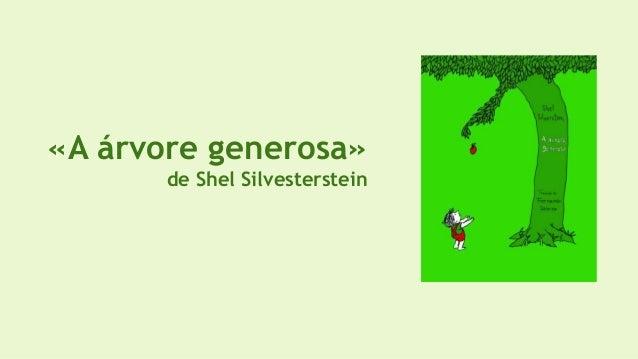 «A árvore generosa» de Shel Silvesterstein