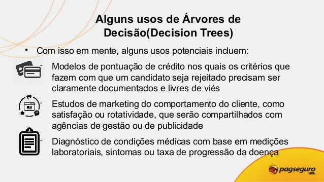 Implementação Decision Tree C5.0  Algoritmo de Decision Tree - C5.0 usa entropia  A entropia (S) é uma grandeza termodin...