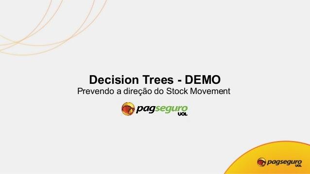 Decision Trees – IPO PagSeguro https://economia.uol.com.br/noticias/bloomberg/2018/01/24/ pagseguro-do-uol-levanta-us-23-b...