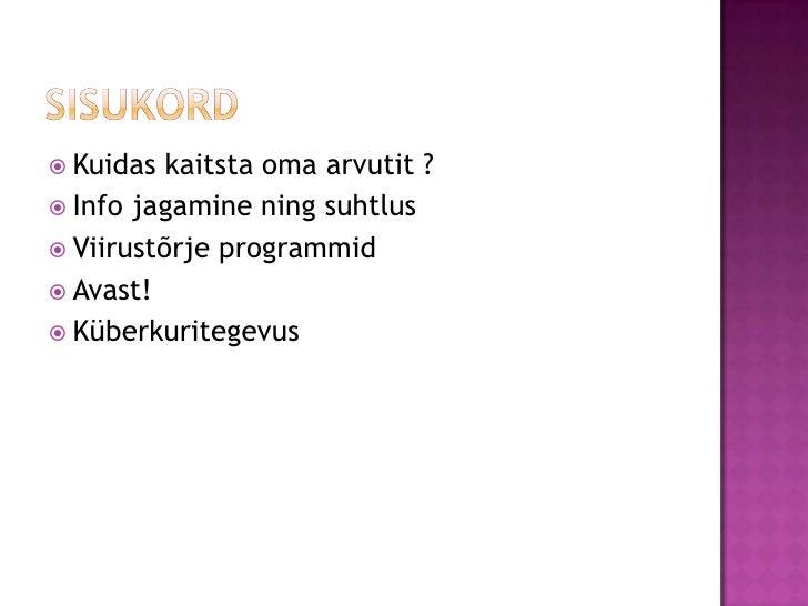 93e83564f94 Arvutiturvalisus<br />Anna-Maria jaAnnika<br />; 2.