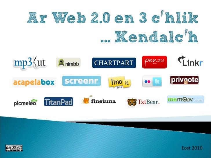 Ar web 2.0 en 3 c'hlik