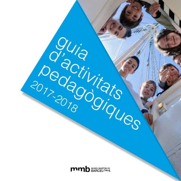 guiad'activitats pedagògiques 2017-2018