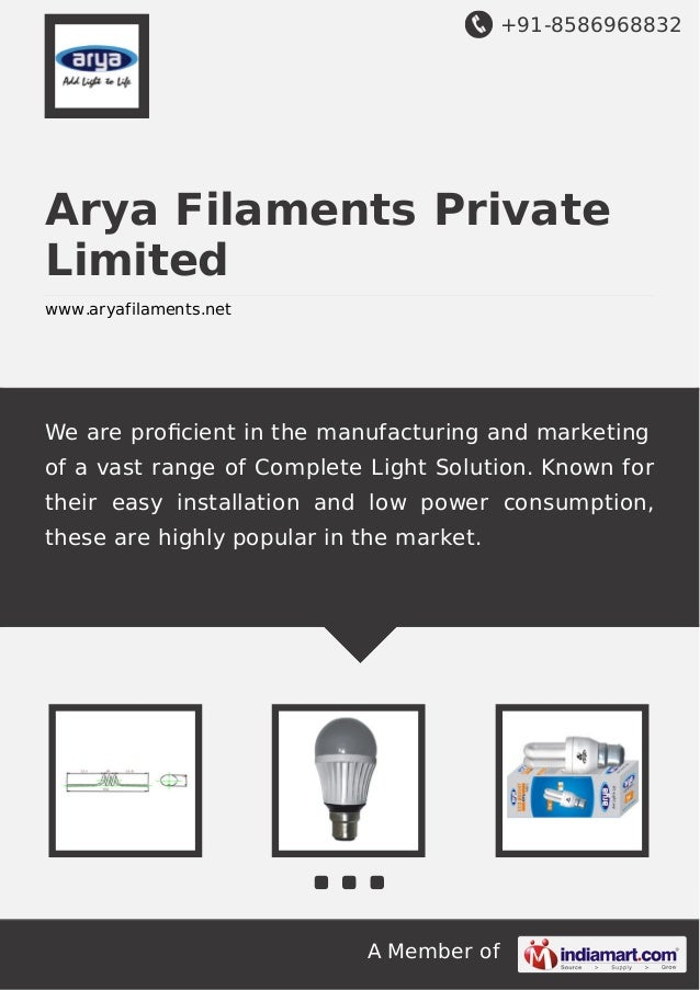 +91-8586968832  Arya Filaments Private Limited www.aryafilaments.net  We are proficient in the manufacturing and marketing ...