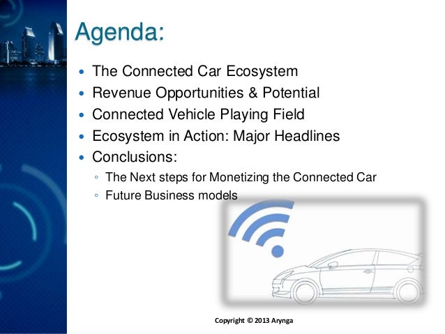 Arynga webinar: monetize connected car Slide 2