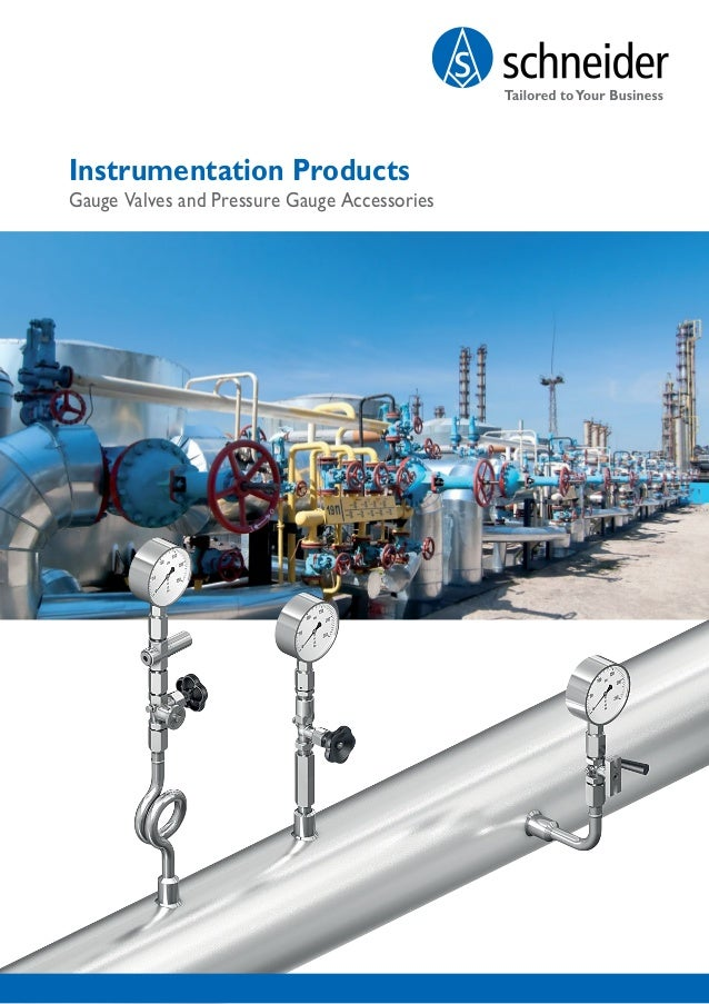 Instrumentation Products Gauge Valves and Pressure Gauge Accessories