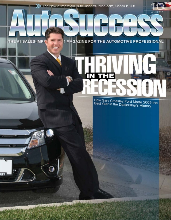 The New & Improved AutoSuccessOnline.com, Check It Out!                                                          April 2010
