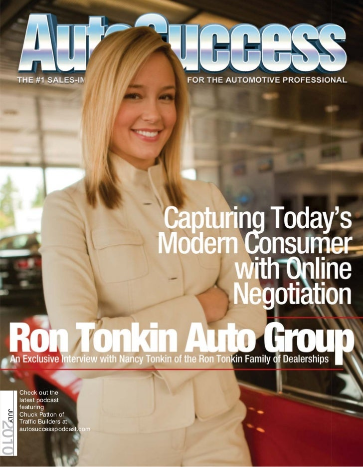 Check out the        latest podcast        featuring JULY        Chuck Patton of        Traffic Builders at2010        auto...