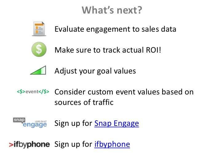 Mastering ROI with Google Analytics slideshare - 웹