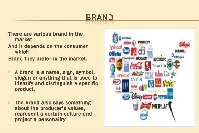 Effectiveness of brand
