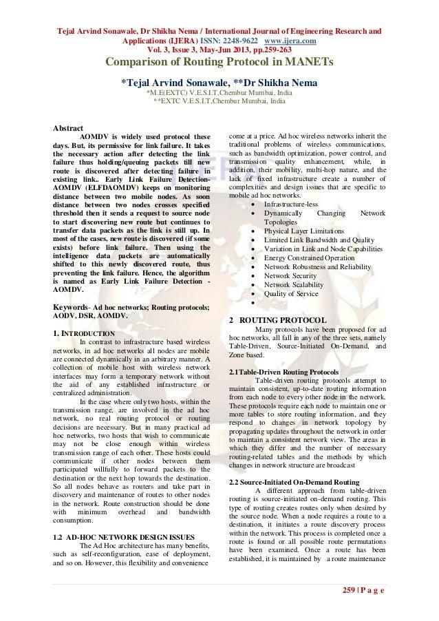 Tejal Arvind Sonawale, Dr Shikha Nema / International Journal of Engineering Research andApplications (IJERA) ISSN: 2248-9...