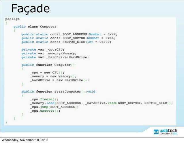 Actionscript 3 Design Pattern Slide 15