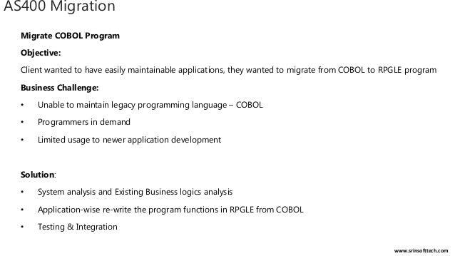 AS400 IBM iSeries Migration