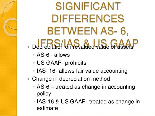 as 6 depreciation accounting standard as Ipcc paper 1: accounting chapter 1 unit 2  applicability 2 as - 6 depreciation this standards was introduced in 1985  accounting for an item of fixed assets.