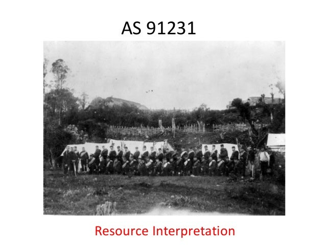 AS 91231Resource Interpretation