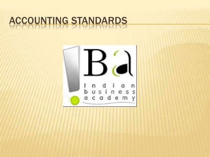Accounting Standards<br />
