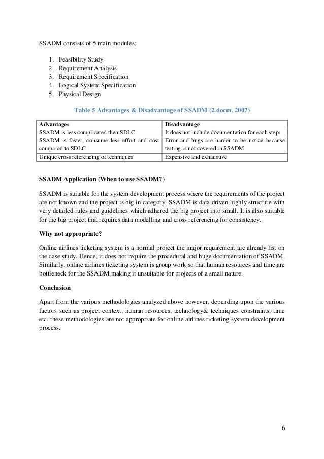 current system analysis document