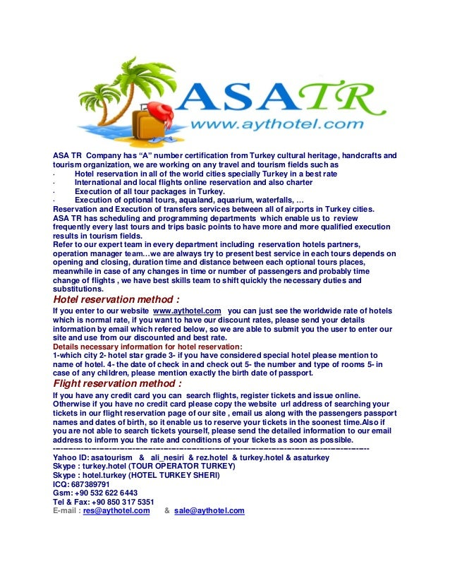 """ASA TR Company has """"A"""" number certification from Turkey cultural heritage, handcrafts and tourism organization, we are wor..."""