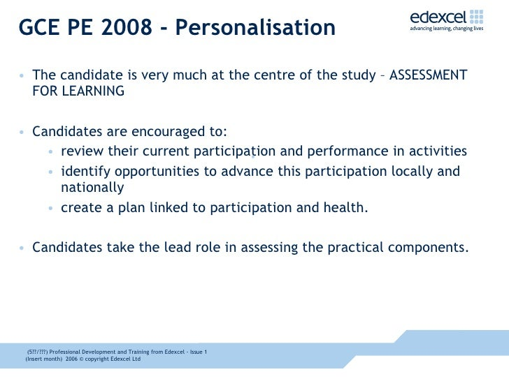GCSE & A Level Assessment - £169