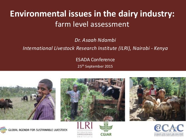 The environmental concerns of the livestock industry