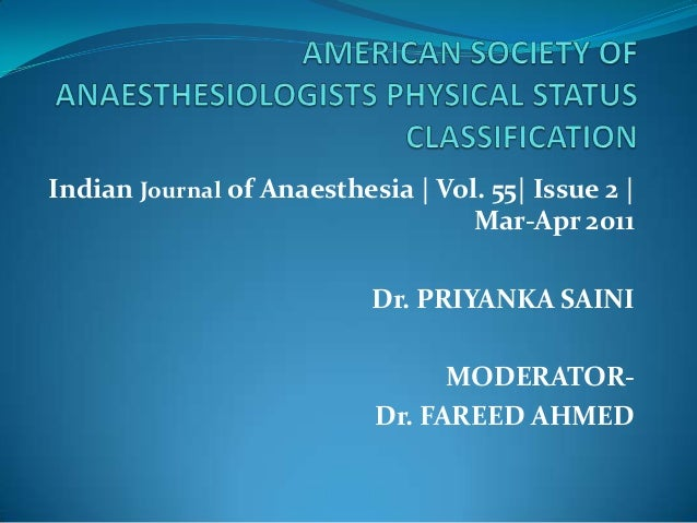 Indian Journal of Anaesthesia   Vol. 55  Issue 2                                     Mar-Apr 2011                         ...